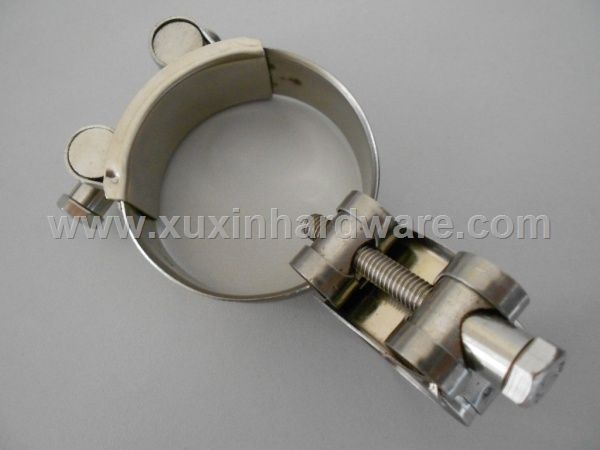 High torque hose clamp