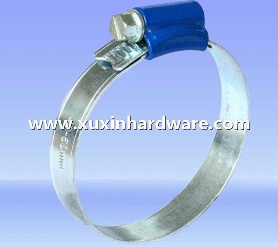 Color Head British Type Hose Clamp