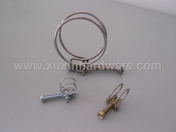 stainless steel / galvanized steel metal clamps clips