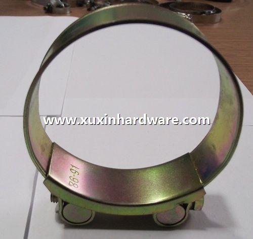 European type hose clamp (solid axis)