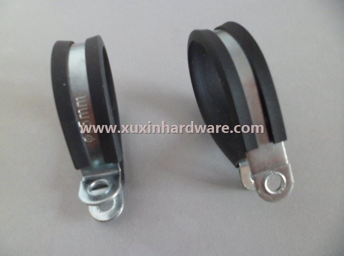 Metal clamp with EPDM