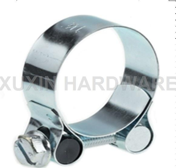 unitary bolt heavy duty hose clamp