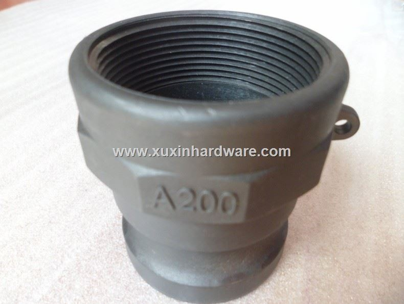 male hose coupling pipe coupling locked with thread