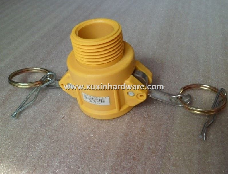 hose coupling in nylon material