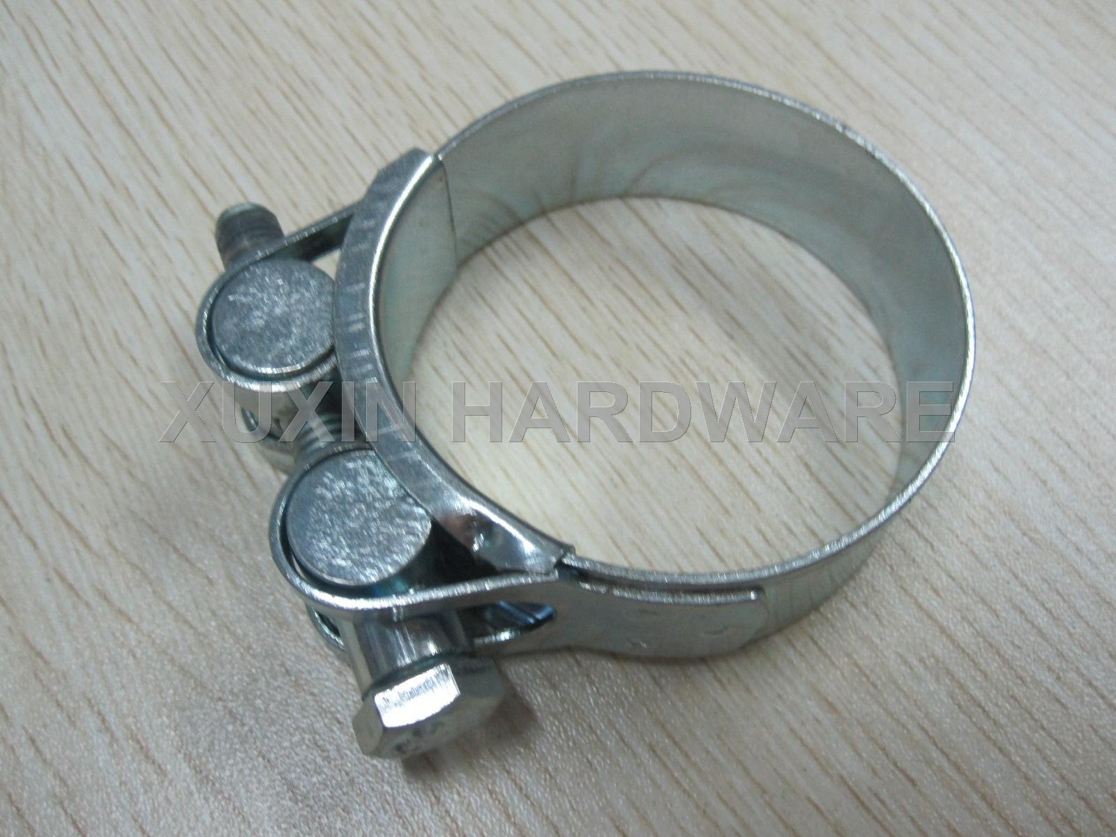 superior duty hollow nut hose clamp , pipe clip