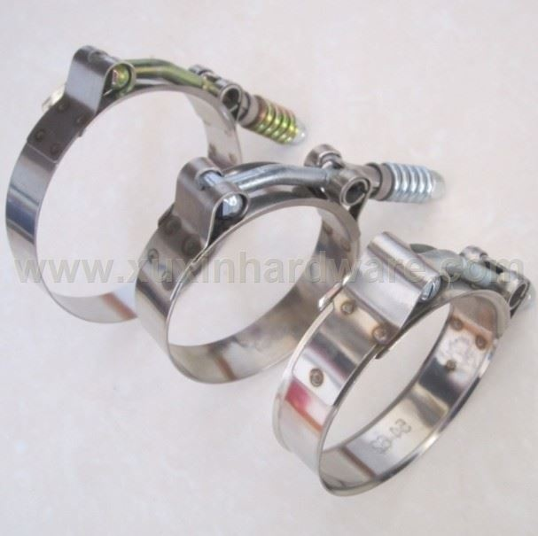 TURBO SILICON HOSE T-BOLT CLAMP