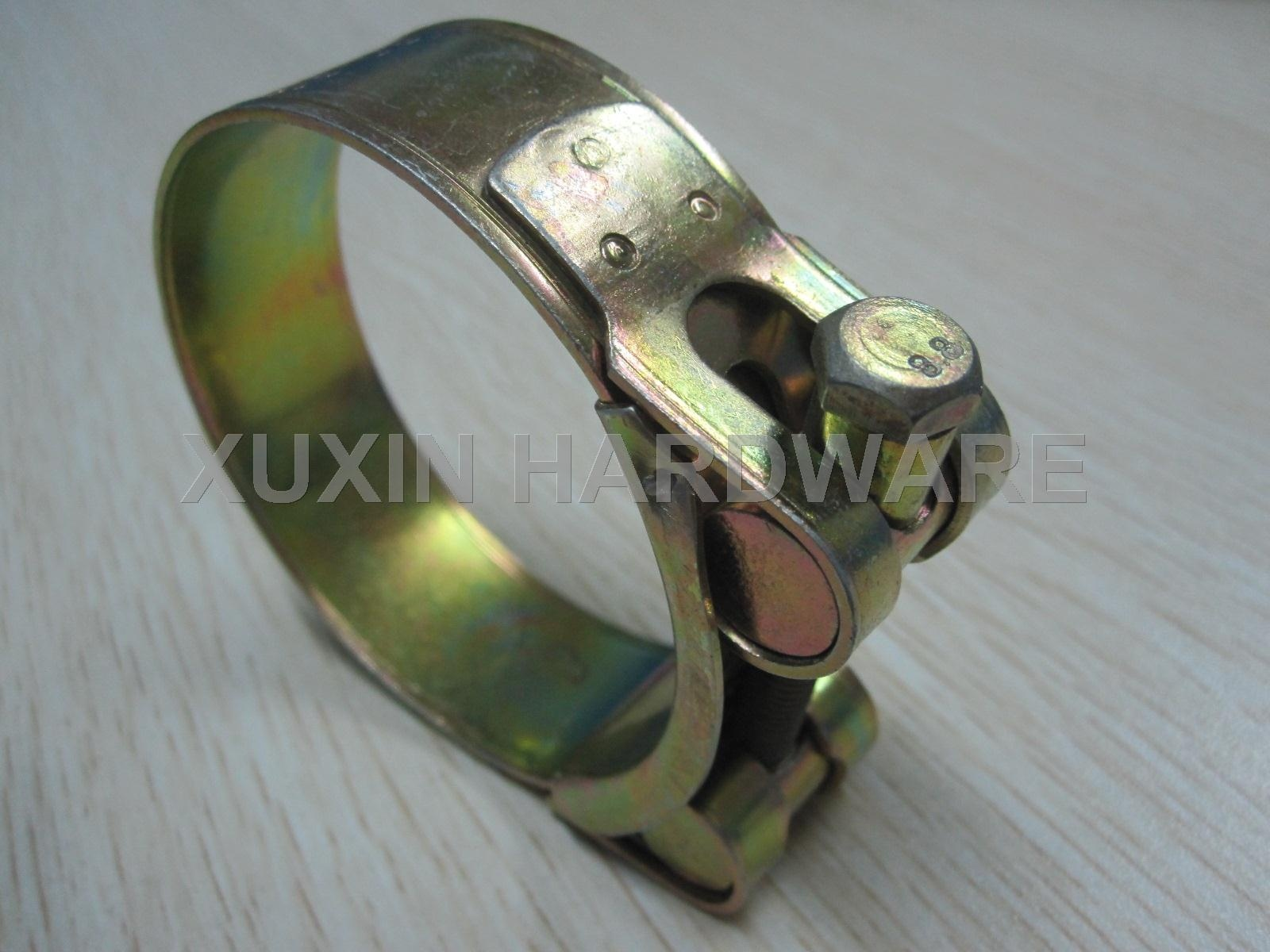 high torque tension hose clamp