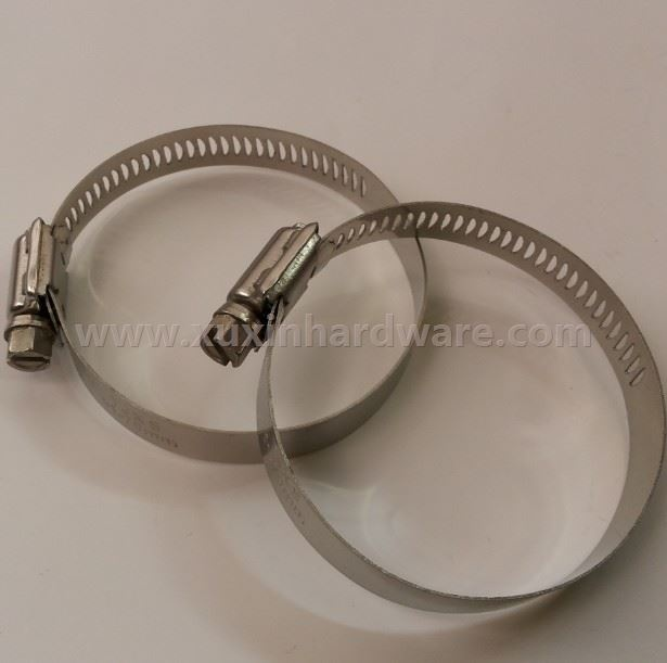 ALL STAINLESS STEEL WORM STYLE CLAMP