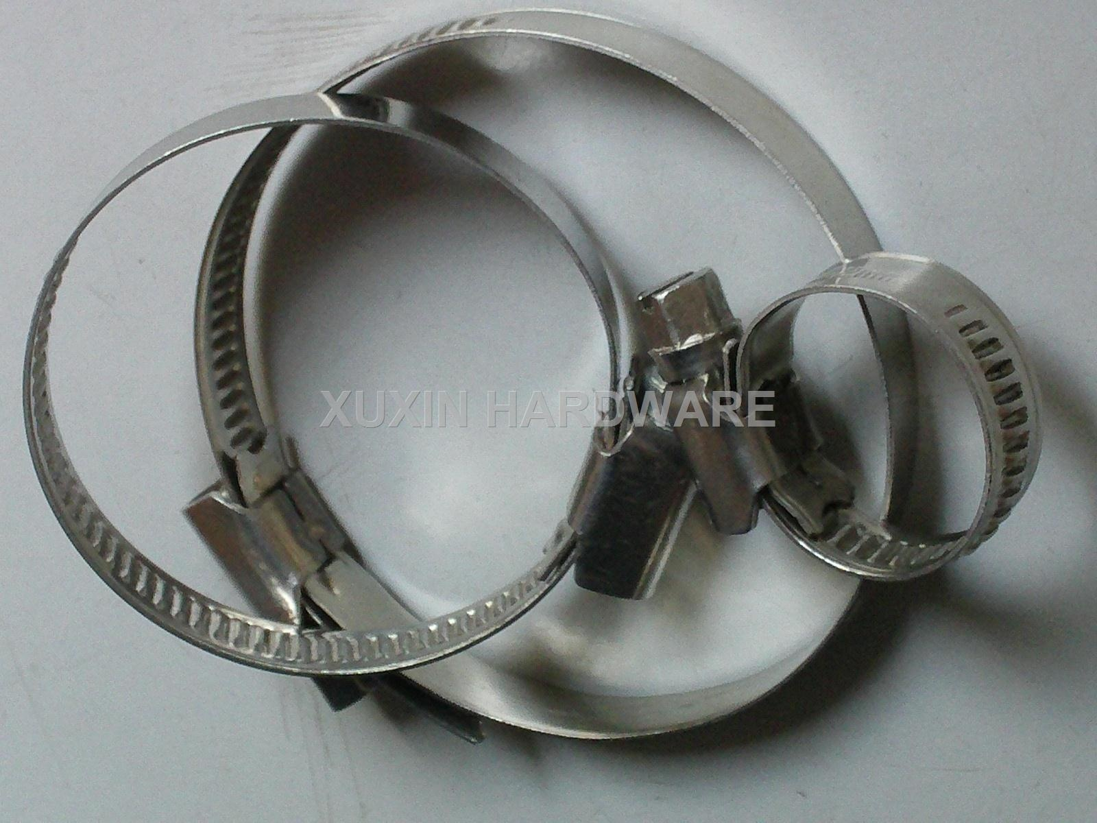 stainless steel German style hose clamps ,pipe clips