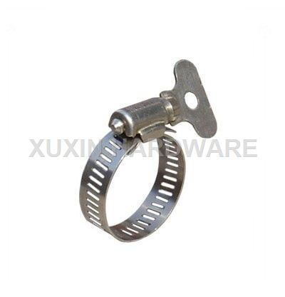 American type stainless steel mini hose clamp
