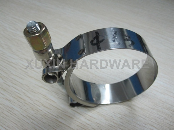 standard heavy duty T-bolt clamp