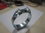 Stainless steel high strength double bolt hose clamp ,pipe clamp