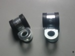 carbon steel P Type hose clamp clip , tube clips