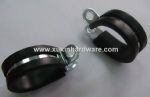 cushioned hose clamp pipe clamps , tube fixng clip