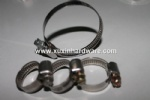 300 series stainless steel 9mm German middle type automotive hose clamp