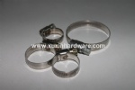 W4/W5 Stainless steel 12mm band width German Middle type norma gas hose clamps