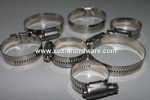 metal slotted band hose clamp