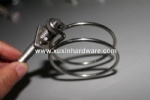 stainless steel heavy duty wire clamp