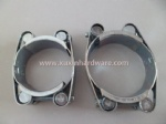 high quality double bolt hose clamp with extra strength