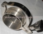 Sanitary heavy duty clamp round (13MHH)/hose clamp