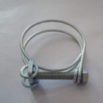 CONSTENT DOUBLE WIRE HOSE CLAMP