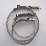 STAINLESS STEEL T-BOLT CLAMPS