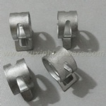SPRING BAND METAL PIPE CLIPS CUSTOMER MADE AVAILABLE