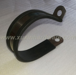 RUBBER LINED METAL CLAMPS CLIPS