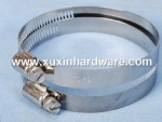metal worm drive hose clamps