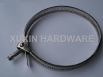 adjustable quick install hose clamp