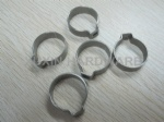 one ear stainless steel hose clamp without perforated