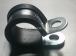 rubber cushioned tube clips hose clamps
